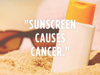 Sunscreen Not Sunshine Causes Cancer - Proof
