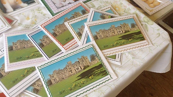 Castle Toward Postcards (per pack)