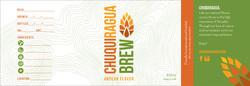 Chuquiragua Brew Beer Label Design