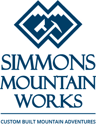 Simmons Mountain Works Logo Design