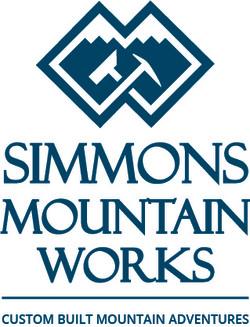 Simmons Mountain Works Logo Design