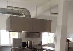 2400mm Island Type Extractor System