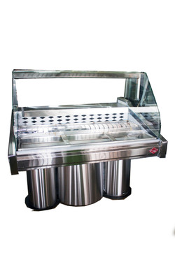 1300mm Curved Glass Deli Fridge