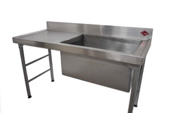 1700mm Single Pot Sink