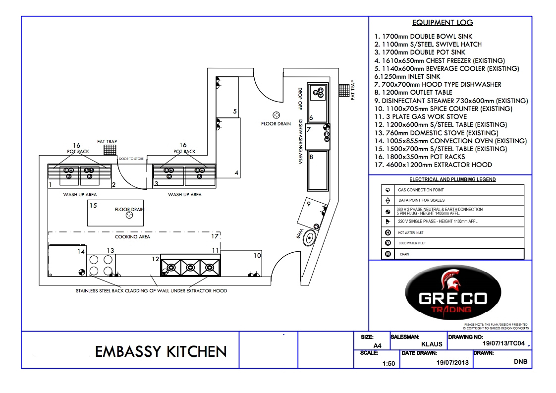 EMBASSY KITCHEN