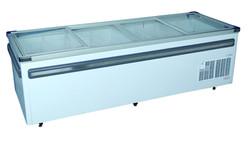 2500mm Glass Top Island Freezer