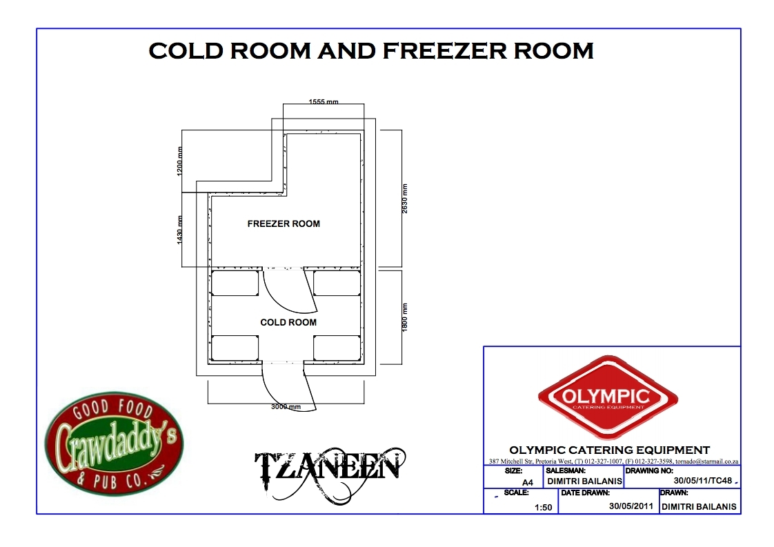 COLD & FREEZER ROOM COMBINATION