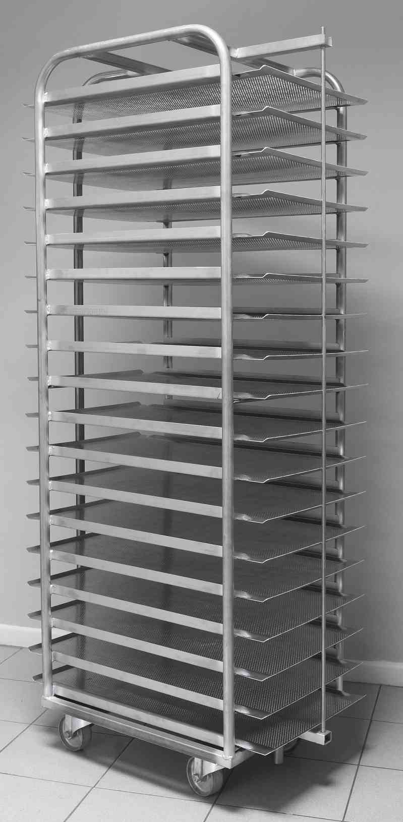 Trolley for Baking Sheets