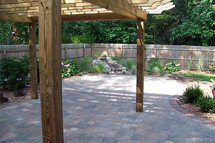 markham landscaping - Interlocking stone patio