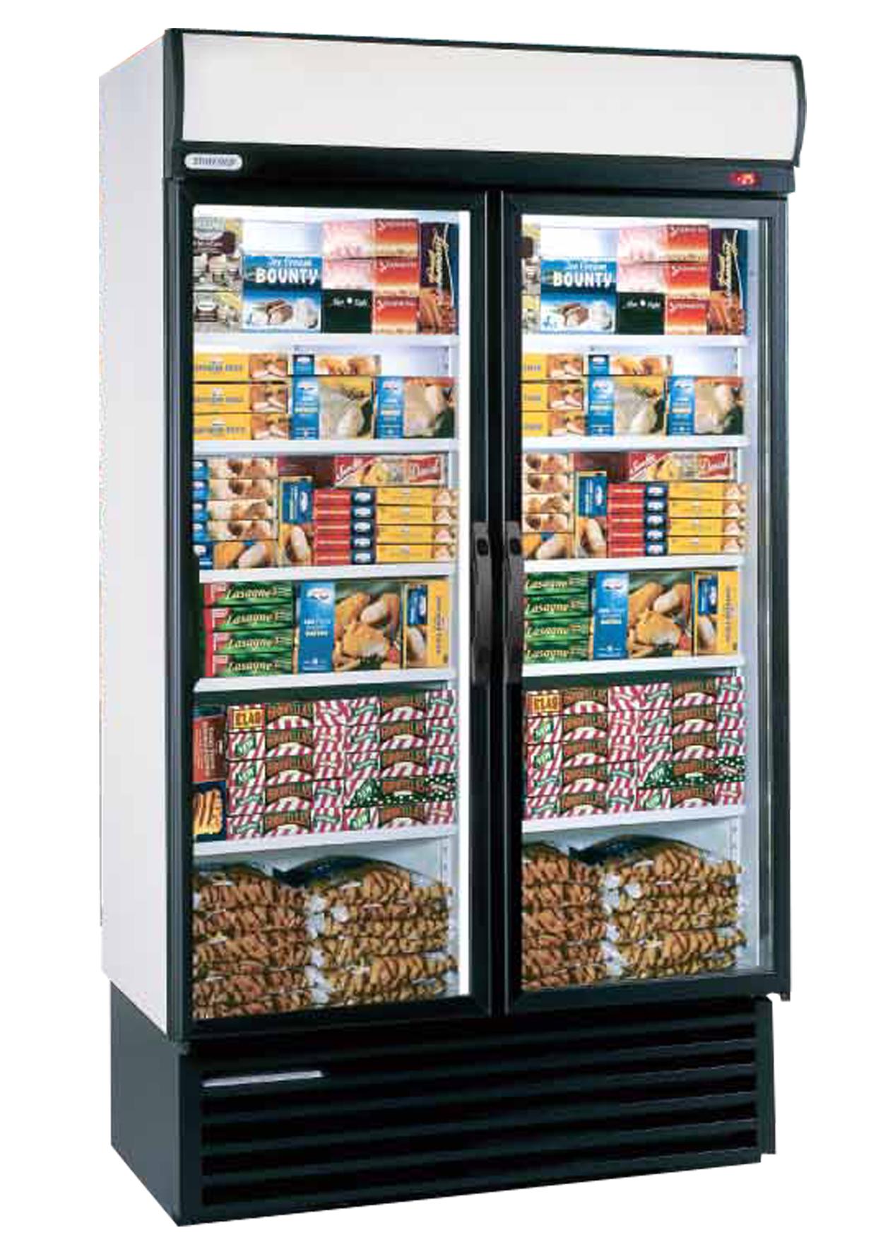 Double Upright  Freezer