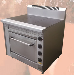 3 Plate Electric Stove/Oven Range