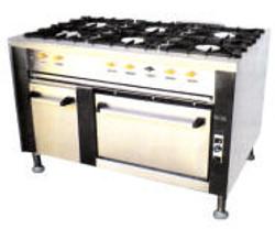 6 Plate Gas Stove/Oven Range