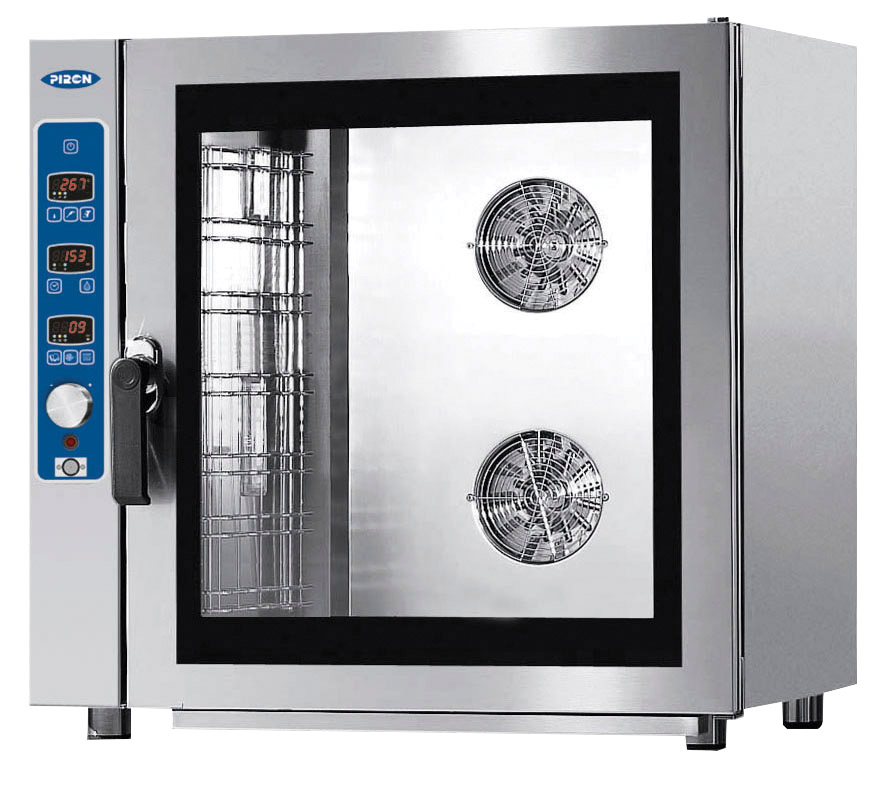 7 Pan Combi Steam Oven – Gas Piron
