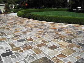 markham landscaping - Interlocking stone driveway