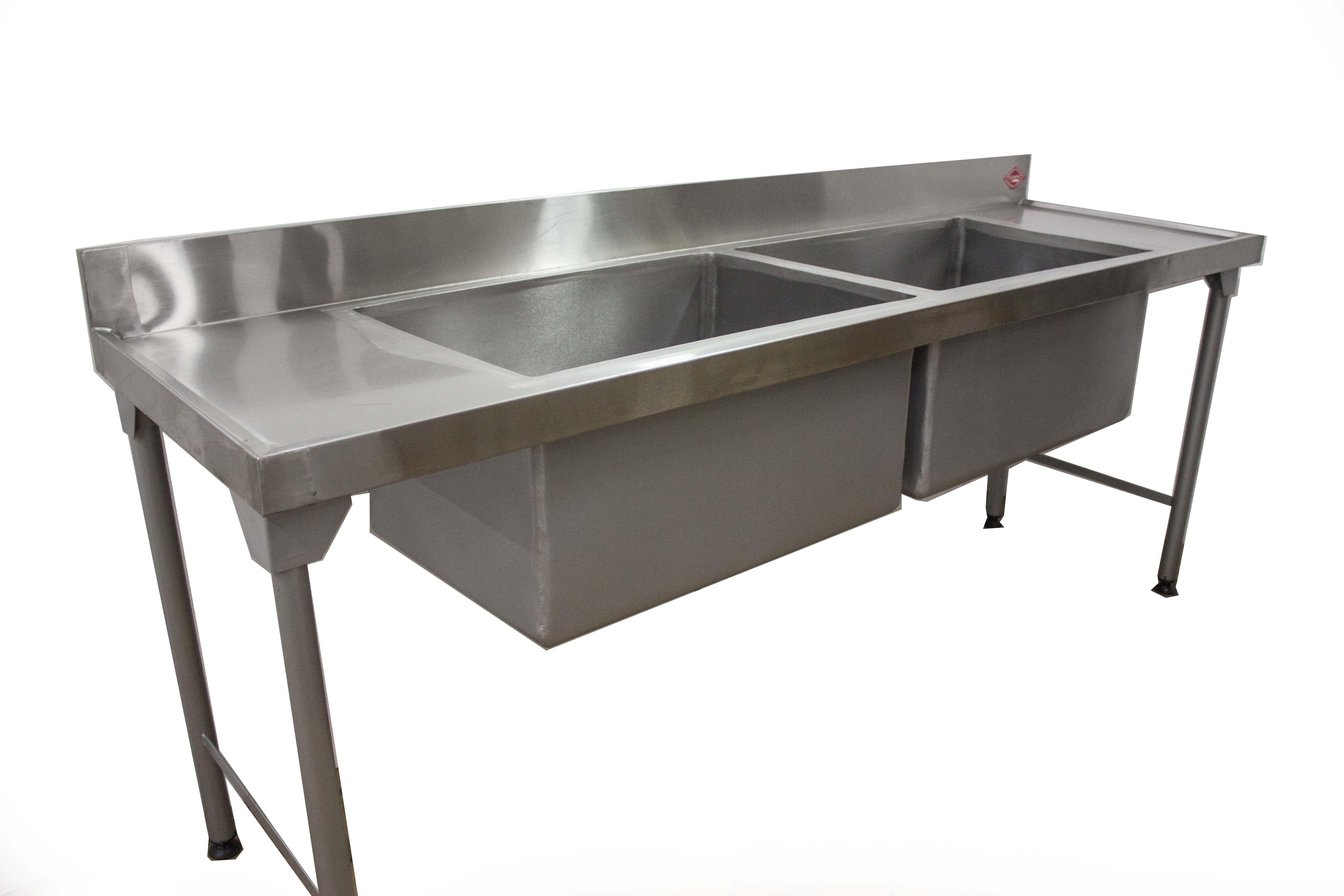 Double Pot Sink