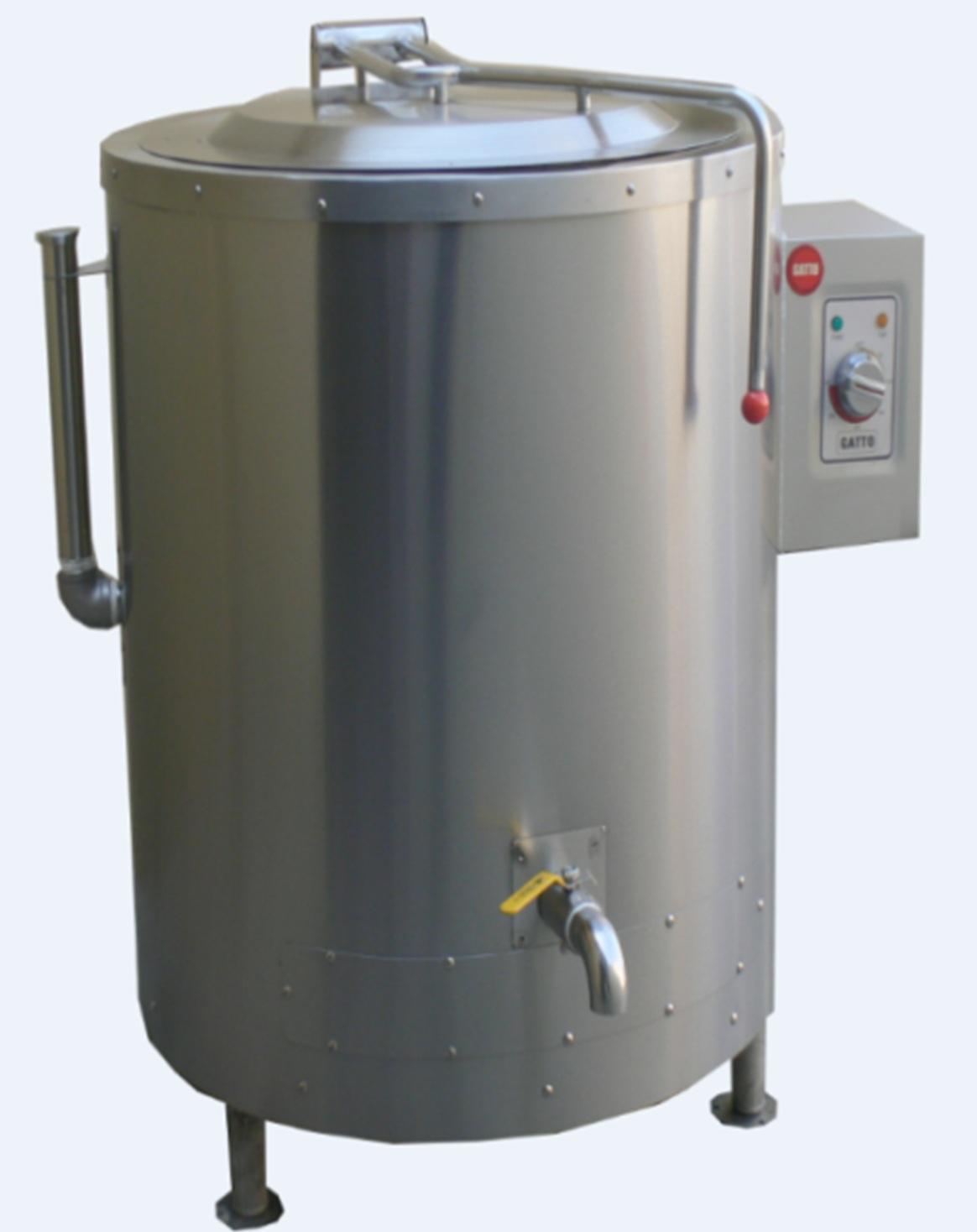 135lt Oil Jacket Pot - Electric