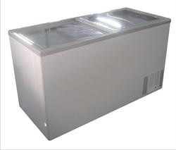 Glass Top Chest Freezer -Medium