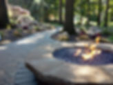 markham landscaping - Stone Fire Pit