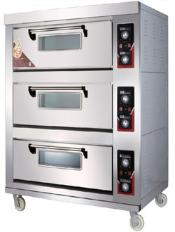 3 Deck 6 Tray Oven