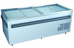 2000mm Glass Top Island Freezer
