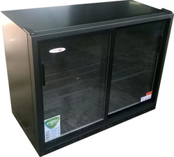 2 Door Back Bar Glass Underbar