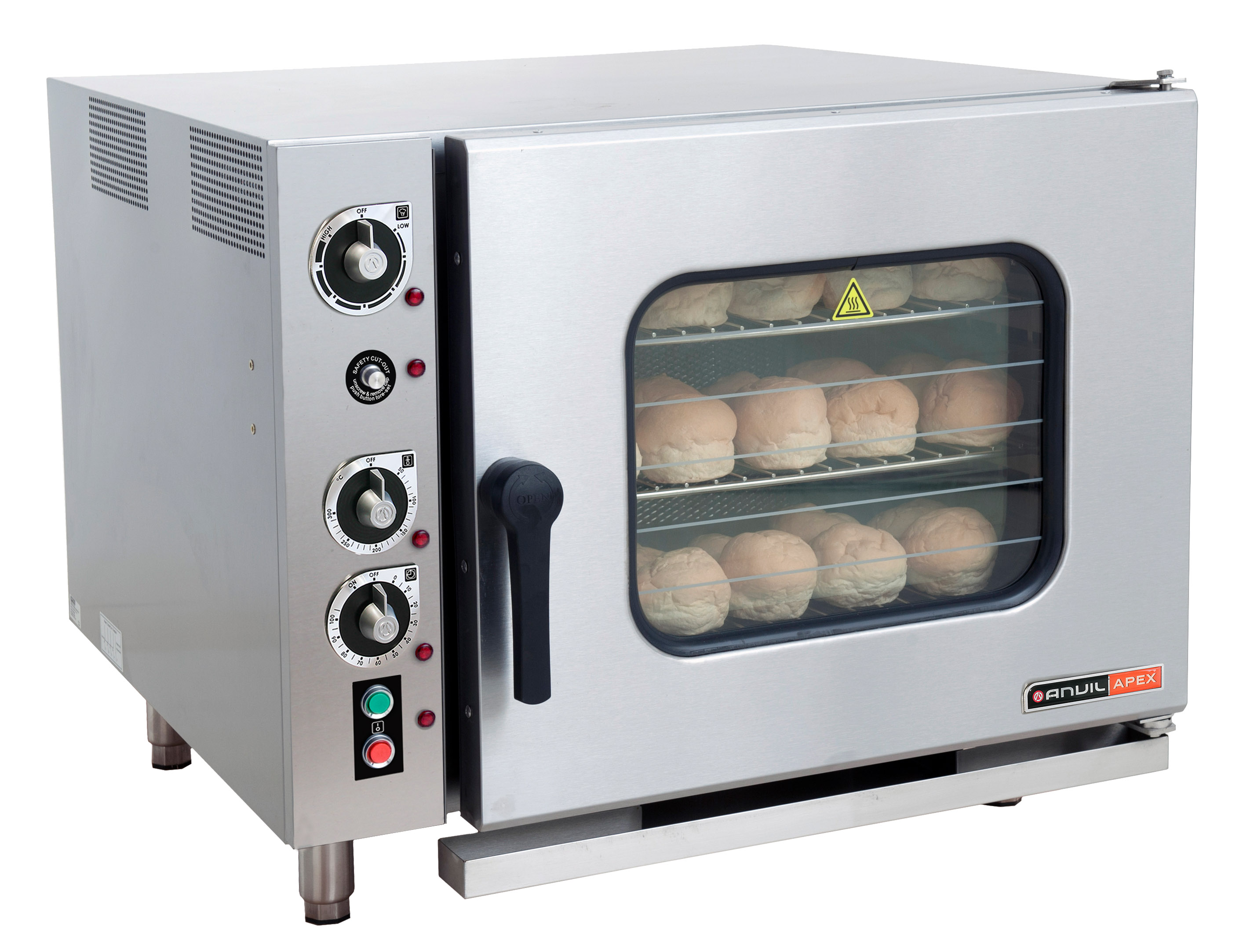 6 Pan Combi Steam Oven- Anvil