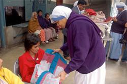 Delivering Quilts