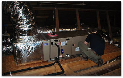 New Air Handler with new Duct work