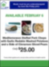 HomePlate_Mediterranean Stuffed Pork Cho