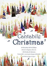 Cantabile Christmas Poster