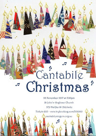 Cantabile Christmas Poster