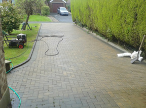 Moss Removal and Driveway Clean