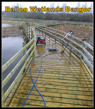 Balloo Wetlands Clean and Decking Re-seal