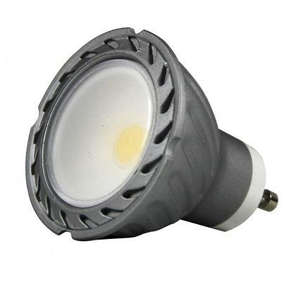 GU10 GRIS REGULABLE LED 8W 100º