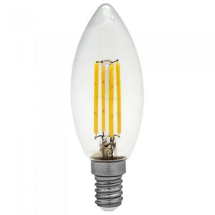 FLAMA LED FILAMENTO 4W E14