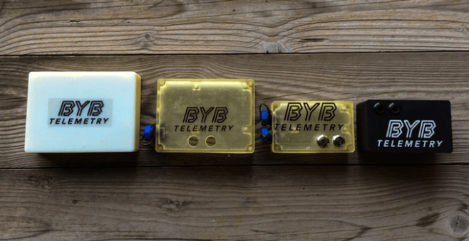BYB Telemetry prototypes
