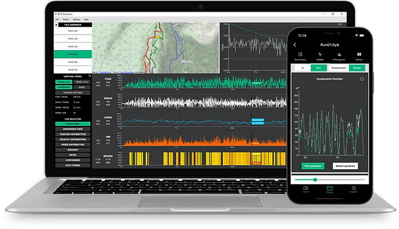 BYB Telemetry software and smartphone app
