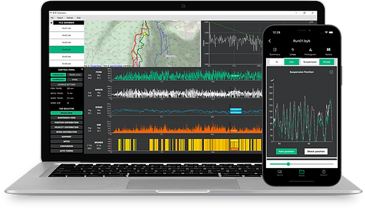 BYB Telemetry motocross and downhill telemetry software