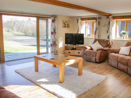 Living Room, The Stables Holiday Cottage, Mid Wales
