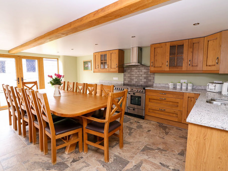 Kitchen, The Stables Holiday Cottage, Mid Wales