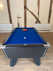 The Stables Holiday Let Mid Wales Games Room Pool Table.jpg
