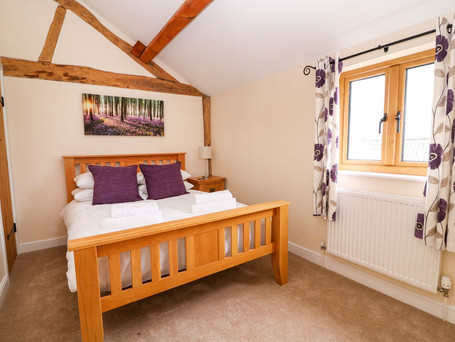 Double Bedroom, The Stables Holiday Cottage, Mid Wales