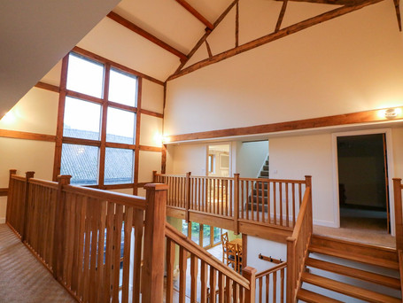 Vaulted Hallway, The Stables Holiday Cottage, Mid Wales