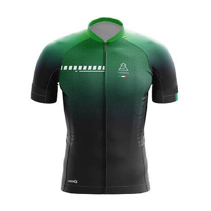 חולצת רכיבה Carbon C6 - ירוק