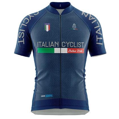 חולצות רכיבה Italian Cyclist - כחול