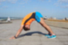 תרגיל מתיחת קרסול גב רגל וגב