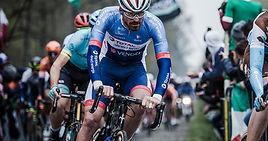 רוכב אופניים בתחרות