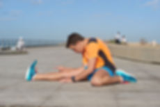תרגיל מתיחת גב הרגל