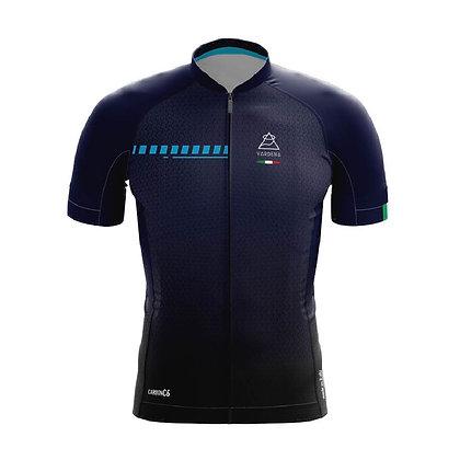 חולצת רכיבה Carbon C6 - כחול