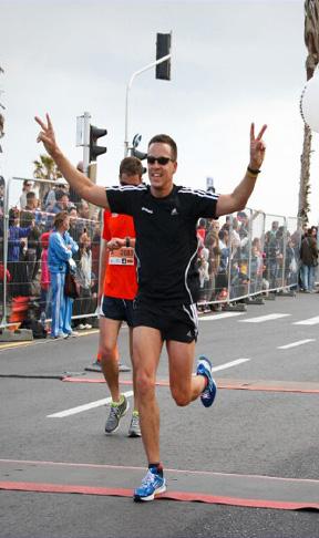 סיום תחרות ריצה